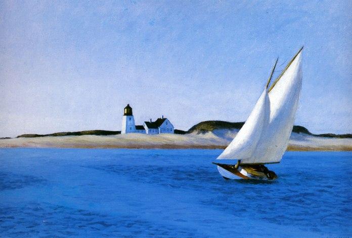 The Long Leg. Edward Hopper