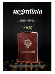 """Colaborador. 2015.Negratinta, número 1. Con los artículos """"El cine de la epopeya humana"""" y """"El gen competitivo"""". http://negratinta.com/producto/negratinta-1/"""