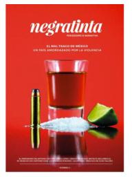 """Colaborador. 2015.Negratinta, número 2. Con el artículo """"Esperando a Grouchy"""". http://negratinta.com/producto/revista-2/"""