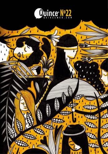 """2016.Revista Quince, número 22.Con los artículos """"Matriarcas de la tribu"""" y """"Mujeres a la palestra"""". https://issuu.com/quince/docs/quince_n__22_online"""