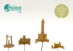 """2013.Revista Quince, número 14. Con la entrevista al pintor Julio Ceballos y """"El dragado del Guadalquivir: una partida de ajedrez en tablas"""". https://issuu.com/quince/docs/quince_n14_definitivo"""