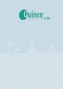 Revista Quince número 26. https://issuu.com/quince/docs/quince_n26_verano_2018